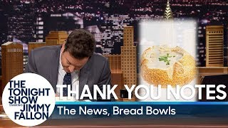 Thank You Notes: The News, Bread Bowls thumbnail