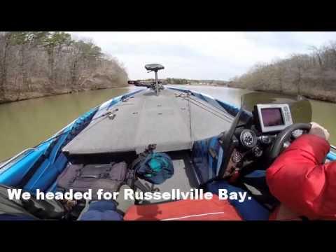 Fishing lake dardanelle with bill dennis youtube for Lake dardanelle fishing report