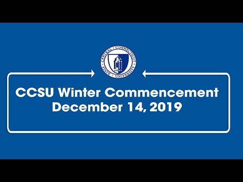 2019 Central Connecticut State University Winter Commencement