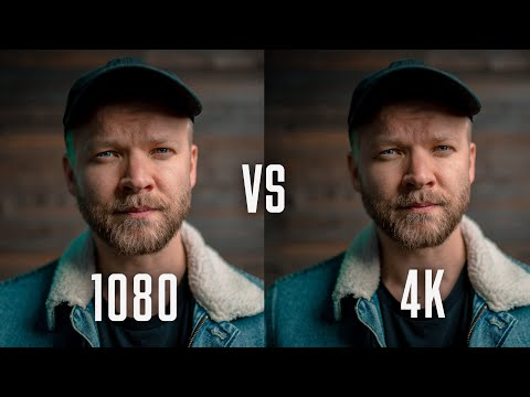 Can you REALLY SEE the DIFFERENCE 1080 VS 4K?