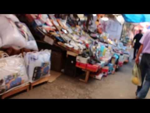 Walking through a Kosovo Market
