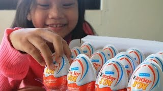 Surprise Eggs 12 Kinder Joy Cars Chupa Chups Surprise Toys