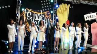 MRU merginų vokalinis ansamblis - Gandrai. 2009-10-17