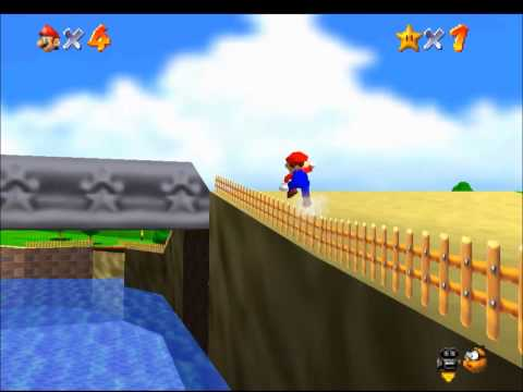 SM64 - The Castle Grounds Challenge