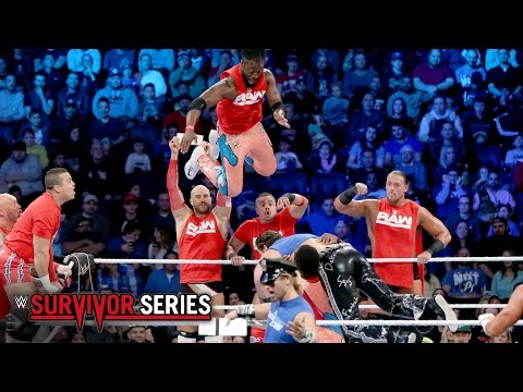 10-on-10 Traditional Survivor Series Tag Team Elimination Match: Survivor Series 2016 on WWE Network