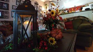 Tuscan old world, Autumn family room decor.🌻🍁 2019