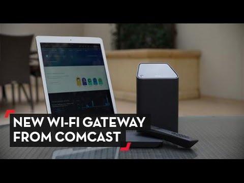 Comcast Shows Off Gig Gateway at CES