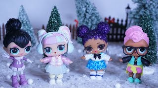 LOL SURPRISE DOLLS Go Christmas Tree Shopping!