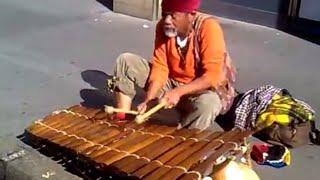 Amazing Street Xylophone Playing!