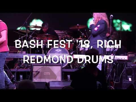Rich Redmond at Bash Fest 2018, drummer of Jason Aldean, Hek82 Music/ Event Reviews