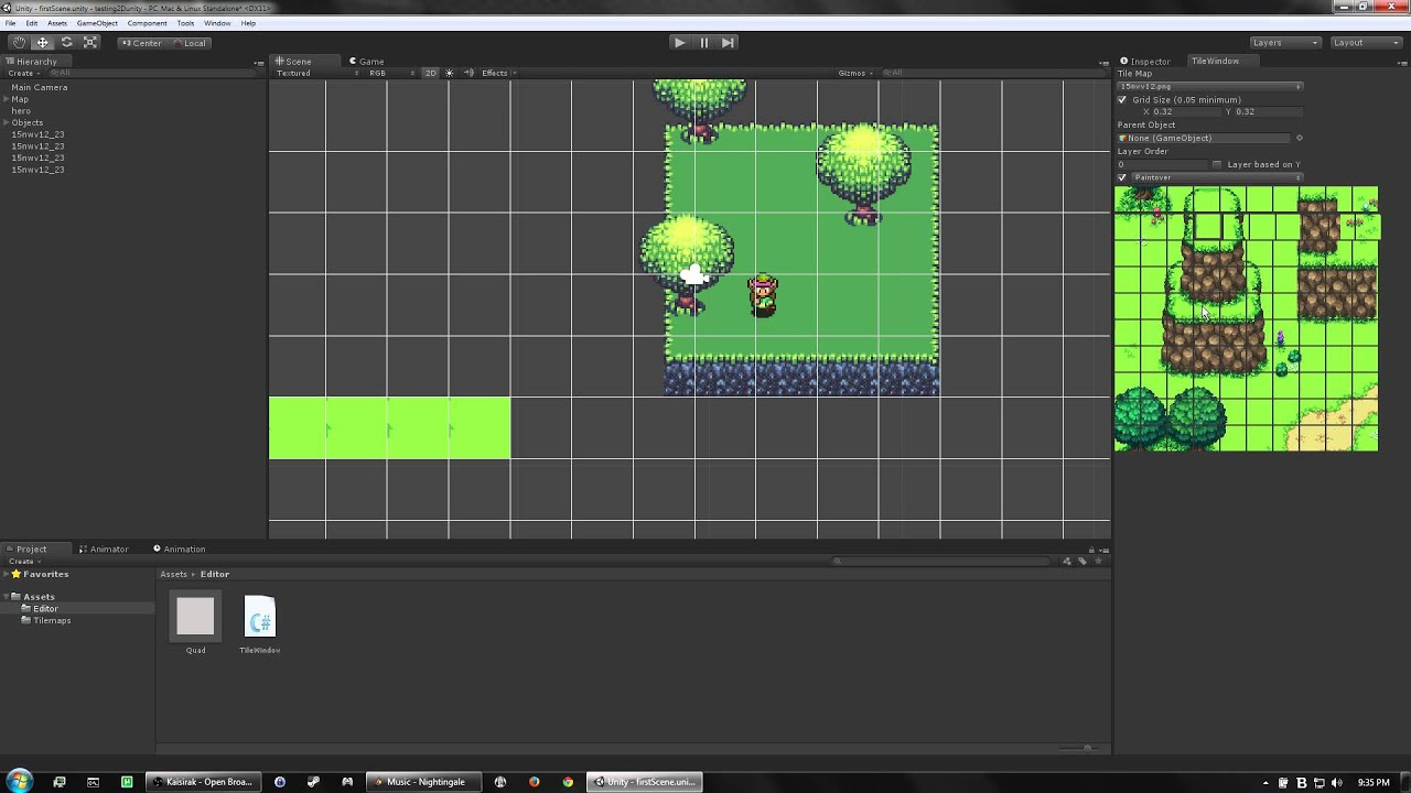 Unity 2d Tilemapper Youtube
