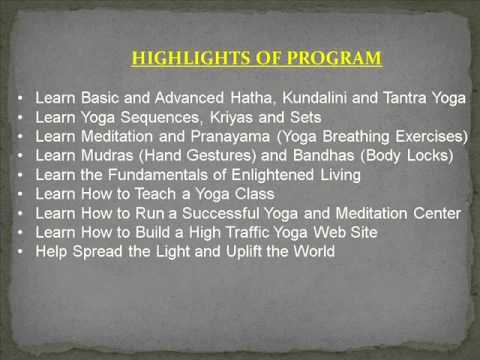 Yoga Certification Online - Yoga Certification Online is Available ...