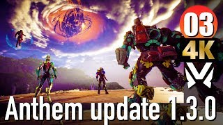 #03 4K Anthem update 1.3.0 -  アンセム ハーケンの望み  Xbox One X