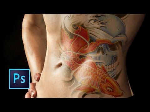 Tutorial Photoshop   Cómo Crear Tatuaje Realista