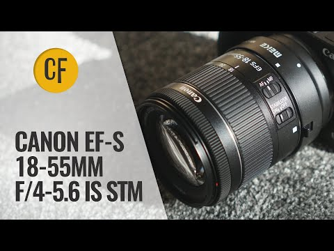 Canon 18-55mm f/4-5.6 IS STM lens review and comparison - the newest kit lens!