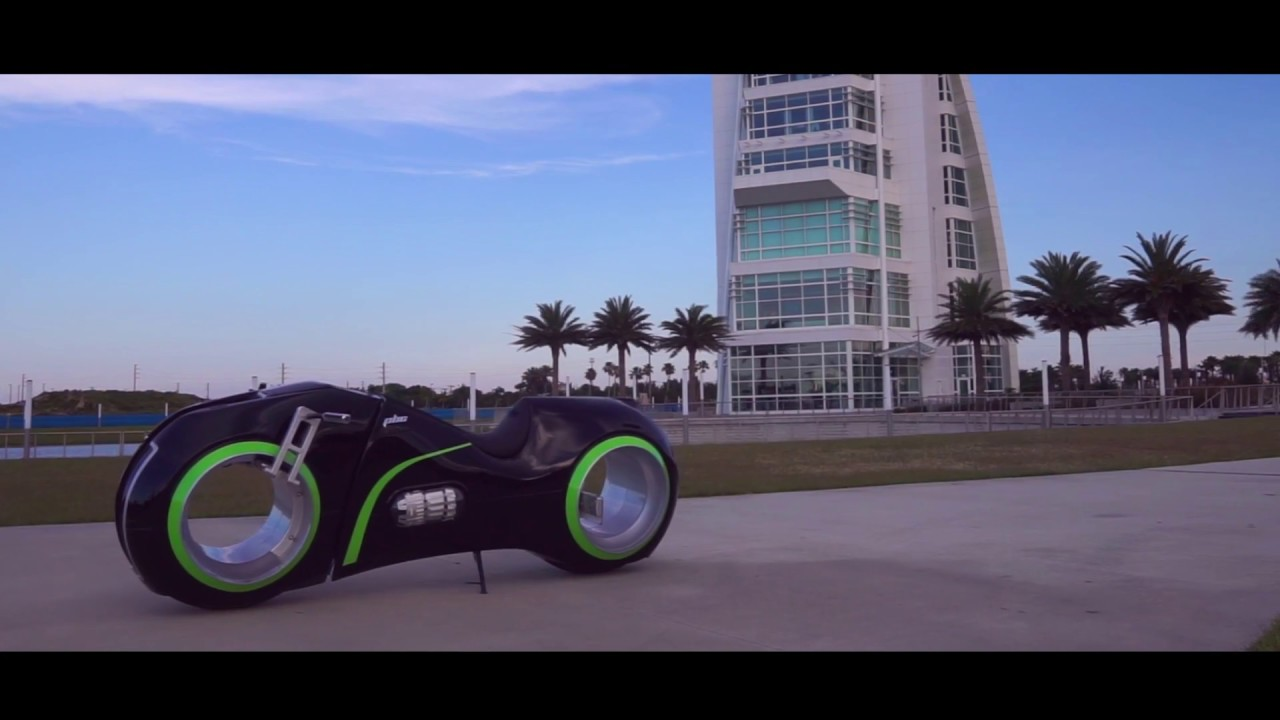 NeuTRON Bike Parker Brothers Electric Motorcycle Concept - YouTube