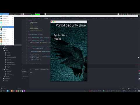 How to Create Mockup in GIMP for Android Application on Parrot Linux thumbnail