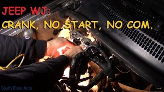 Jeep Grand Cherokee: No Start / No Communication