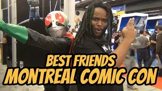 Best Friends Zaibatsu vs Montreal Comic Con 2014