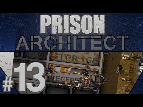 Prison Architect - Lucky Number 13 - PART #13