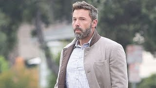 Ben Affleck Looks So Handsome At Morning Drop-Off We Can Hardly Stand It!