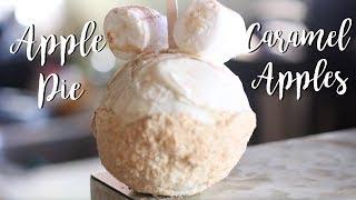 DIY Disney Apple Pie Caramel Apples