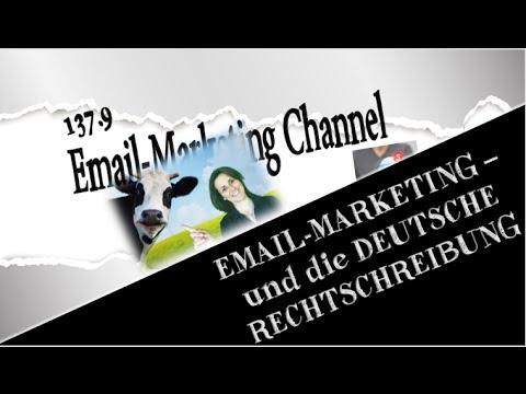 Emailmarketing und deutsche Rechtschreibung