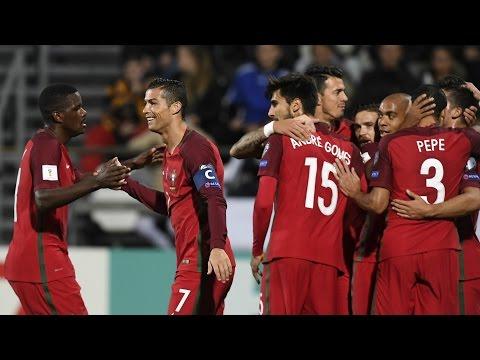 Faroe Islands - Portugal 0-6 Goals & Highlights 10/10/2016