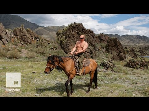 Putin named Russia's 'Man of the Year' for 15th year | Mashable