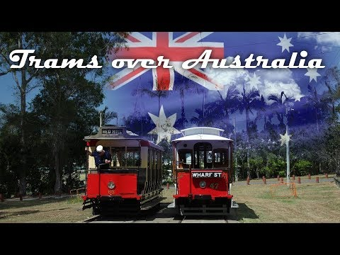 Trams over Australia: Cane-Tram, Tram Gold Coast & Brisbane Tram-Museum
