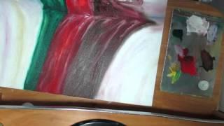 Учусь рисовать драпировку на ткани по видеоуроку.(Училась изображать драпировку по видео уроку.Ссылка на урок http://www.youtube.com/watch?v=CY4oCm_CzS0., 2015-12-19T06:32:01.000Z)