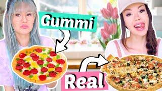 Gummi Food vs. Real Food ⚡️BFF Battle| ViktoriaSarina