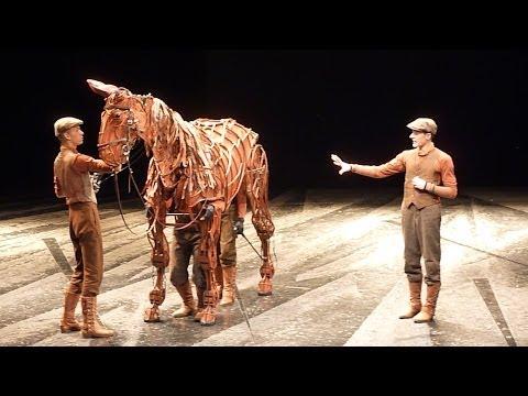 Gefährten/ War Horse & Inside The Horse -Theater Des Westens Berlin -Tag Der Offenen Tür 18.5.2014