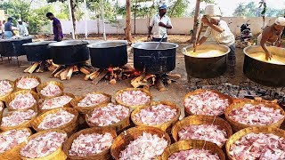 Cooking 500KG MUTTON BIRYANI For 3000 Peoples | WORLD FAMOUS AMBUR MUTTON BIRYANI