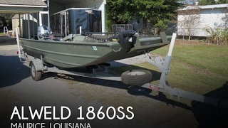 [UNAVAILABLE] Used 2014 Alweld 1860SS in Maurice, Louisiana