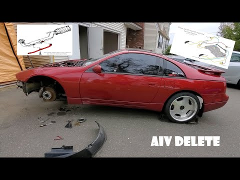 The Best Guide On How To Delete Your AIV On A 1990-1996 Nissan 300zx (Episode 4)