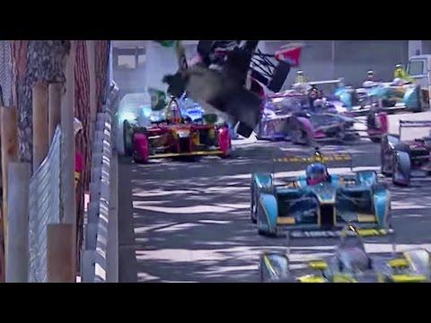 Bruno Senna's Monaco Formula E Horror Crash