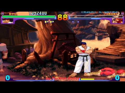 Street Fighter III: New Generation (Arcade) - (Ryu   Hard Difficulty)