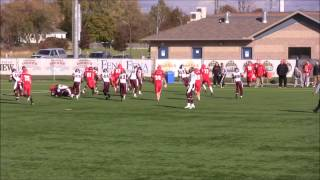 Myles Methner Class of 2014 Wilfrid Laurier Commit Playoff Highlights