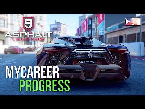 ASPHALT 9: LEGENDS - Game Progress And All Unlocked Cars