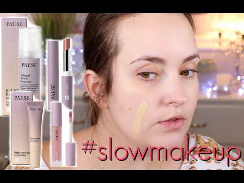 PAESE #slowmakeup test nowej, polskiej serii - czy warto kupić?