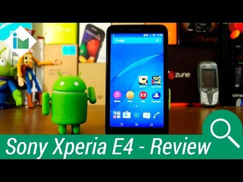Sony Xperia E4 - Review en español