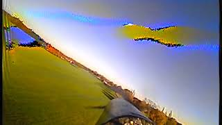 Maiden FPV flight Dancing Poke and 7in screen