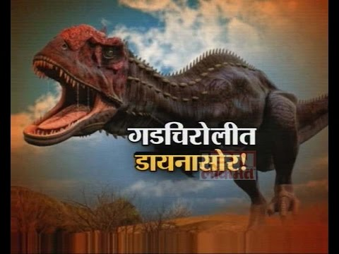 IBN Lokmat Special Show on Dinosaur fossils found in Gadchiroli