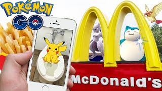 CATCHING POKEMON IN McDonald's!! POKEMON GO | 3000+CP MAX LEVEL DRAGONITE!