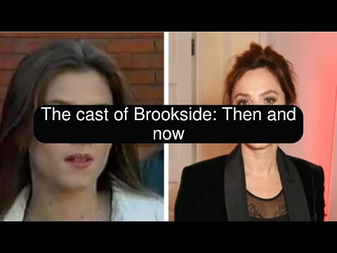 The cast of Brookside: Then and now