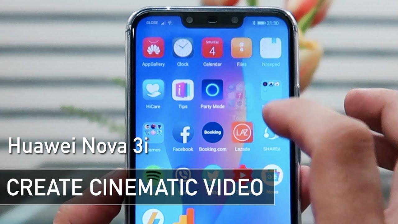 Huawei Nova 3i Creating Cinematic Footage   Zeibiz