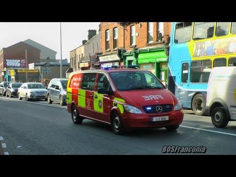 Ambulance D34 + Pump 32 Phibsboro + Advanced Paramedic Unit Dublin Fire Brigade