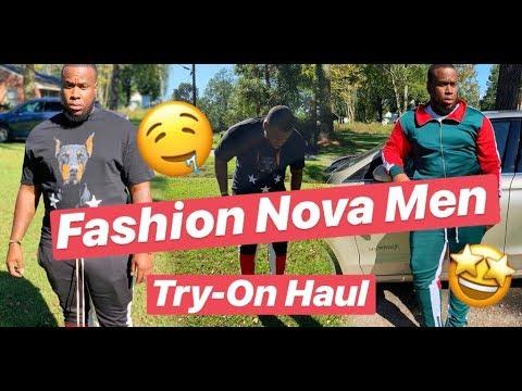 FASHION NOVA MEN CLOTHING TRY-ON HAUL 🔥