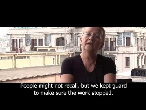 Mücella Yapici Interview - Taksim Square and Gezi Park - Part 2 - English Subtitles